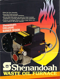 Shanandoah Waste Oil Furnace
