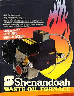 Shenandoah Waste Oil Furnace